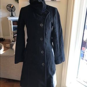 Mackage S wool coat black